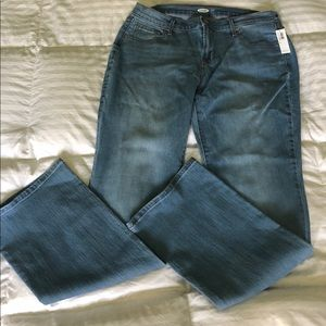 NWT Old Navy Curvy Bootcut Jeans 14